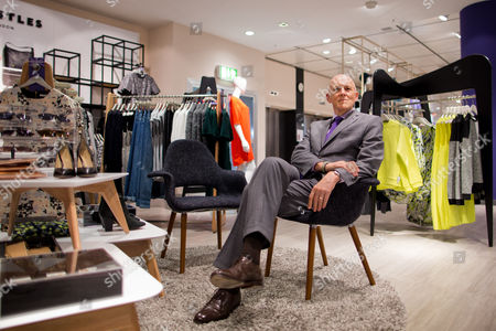 Stock Picture of Andrew Jennings Ceo of the Warehouse Chain Karstadt Sits Within a Newly Renovated Karstadt Shop in Duesseldorf Germany 04 September 2013 Karstadt Enters the Autumn Season with a 'Little Tailwind' According to Jennings Germany Duesseldorf