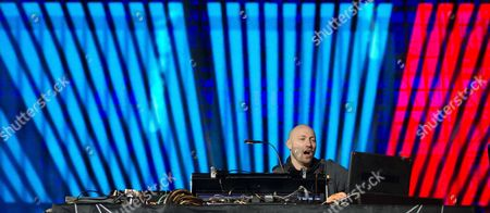 German Dj Paul Kalkbrenner Performs During the Citizens' Festival at Brandenburgágate Ináberlin Germany 09 November 2014 Germany on 07 November Launched Its Celebrations Marking the 25th Anniversary of the Fall of the Berlin Wall when It Switched on a 15-kilometre-long So-called 'Border of Lights 2014' in the Nation's Capital That Illuminates where the Notorious Former Berlin Wall Stood Numerous Events Mark the 25th Anniversary of the Fall of the Berlináwall Germany Berlin