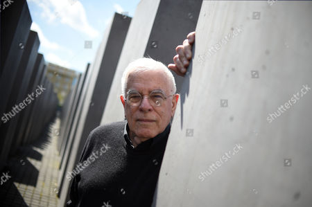 Us Architect Peter Eisenman Poses at the Memorial to the Murdered Jews of Europe in Berlin Germany 04 May 2015 the Holocaust Memorial by Eisenman was Inaugurated in May 2005 and Sees Its 10th Anniversary Germany Berlin