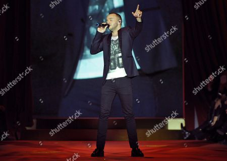 A Picture Made Available on 24 January 2015 Shows British Singer Marlon Roudette Performing During the Mercedes Benz Fashion Week in Berlin Germany 23 January 2015 During the Berlin Fashionáweek the Collections For Fall/winter 2015 Are Presented the Event Runs From 19 to 23 January Germany Berlin