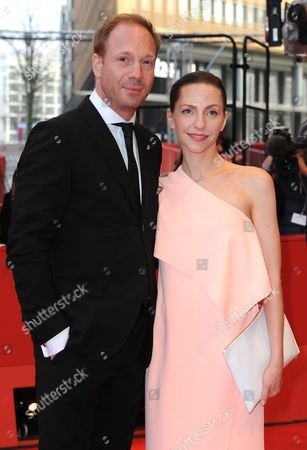 German Actors Johann Von Buelow (l) and Katharina Schuettler Arrive For the Screening of '13 Minutes' (elser) During the 65th Annual Berlin Film Festival in Berlin Germany 12 February 2015 the Movie is Presented in the Official Competition of the Berlinale Which Runs From 05 to 15 February Germany Berlin