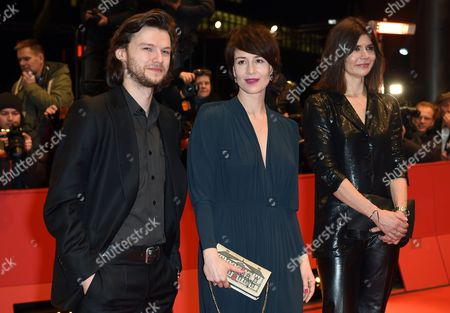 A Picture Made Available on 15 February 2015 Shows (l-r) Polish Actors Mateusz Kosciukiewicz and Maja Ostaszewska and Polish Director Malgorzata Szumowska Arriving For the Closing and Award Ceremony of the 65th Annual Berlin International Film Festival in Berlin Germany 14 February 2015 the Berlinale Runs From 05 to 15 February Germany Berlin