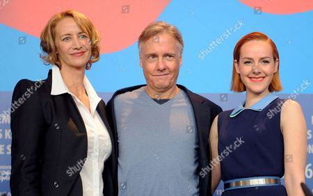 Stock Picture of British Actress Janet Mcteer (l) Us Director Mitchell Lichtenstein and Us Actress Jena Malone (r) Attend the Press Conference For 'Angelica' at the 65th Annual Berlin Film Festival in Berlin Germany 07 February 2015 the Movie is Presented in the 'Panorama Special' Section of the Berlinale Which Runs From 05 to 15 February 2015 Germany Berlin