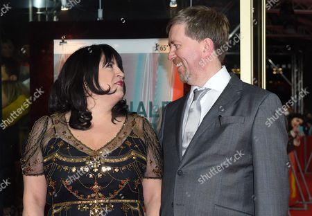 British Author E L James (l) and Her Husband Niall Leonard Arrive For the Screening of 'Fiftyáshades of Grey' During the 65th Annual Berlin Film Festival in Berlin Germany 11 February 2015 the Movie is Presented out of Competition As a Special Gala of the Berlinale Which Runs From 05 to 15 February Germany Berlin