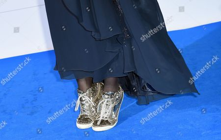 German Director Katja Von Garnier Wears Sneakers As She Arrives For the Cinema For Peace Gala During the 65th Berlin International Film Festival Ináberlin Germany 09 February 2015 the Awards Ceremony and Charity Gala Takes Place Every Year Within the Scope of the Festival the Berlinale Runs From 05 to 15 February Germany Berlin