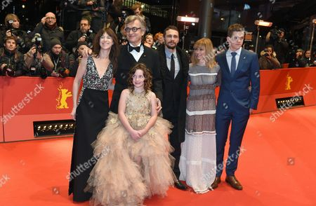 (l-r) French Actress Charlotte Gainsbourg German Director Wim Wenders Us Actor James Franco Canadian Actors Marie-josee Croze and Robert Naylor and Young Actress Lilah Fitzgerald (front) Arrive For the Premiere of 'Everything Will Be Fine' at the 65th Annual Berlin International Film Festival in Berlin Germany 10 February 2015 the Movie is Presented out of Competition at the Berlinale Which Runs From 05 to 15 February Germany Berlin