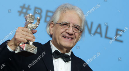 Chilean Writer-director Patricio Guzman Holds Silver Bear Award For Best Script Which He Won For 'The Pearl Button' (el Boton De Nacar) at the Closing and Award Ceremony of the 65th Annual Berlin International Film Festival in Berlin Germany 14 February 2015 the Berlinale Runs From 05 to 15 February Germany Berlin