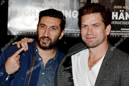 Lebanese-swedish Actor Fares Fares (l) and Danish Actor Nikolaj Lie Kaas Arrive For the Premiere of 'Fasandraeberne' (the Absent One) at the Hamburg Film Festival in Hamburg Germany 26 September 2014 the Event Runs Until 04 Octoberl Germany Hamburg