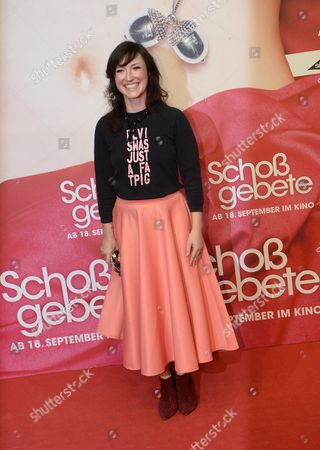 British-born German Writer Charlotte Roche Arrives For the Premiere of 'Schossgebete' in Cologne Germany 05 September 2014 the Movie Opens in German Theaters on 18 September Germany Cologne