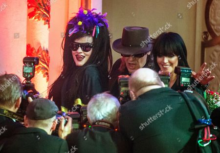 Stock Picture of German Punk Legend Nina Hagen (l) German Rock Singer Udo Lindenberg (c) and 'Neue Deutsche Welle' (new German Wave) Star Nena (r) Pose For the Media During the 'B Z Culture Award' Ceremony in the Komische Oper (comical Opera) House in Berlin Germany 21 January 2015 Since 1991 the Berlin Tabloid Newspaper B Z Awards This Annual Prize to Personalities That Contributed to Excellence For Cultural and Artistic Diversity in the German Capital Germany Berlin