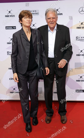 German Cinematographer Michael Ballhaus (r) and His Wife German-us Director Sherry Hormann Arrive For the 15th 'First Steps Awards' Ceremony in Berlin Germany 15 September 2014 Germany Berlin