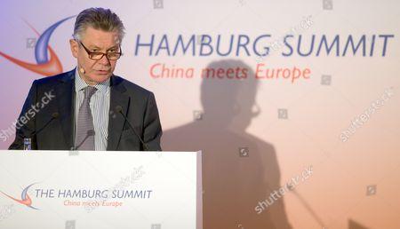 Editorial image of Germany Hamburg Summit - Oct 2014