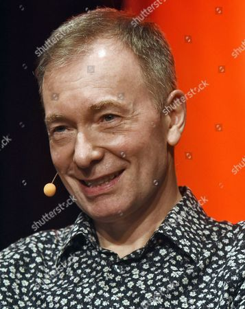 British Author Tony Parsons on Stage at the International Literature Festival Lit Cologne in Cologne Germany 16 March 2015 the Event Runs From 11 March to 21 March Germany Cologne