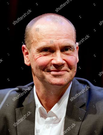 Stock Image of British Writer and Journalist Simon Beckett Reads From His Book 'Stone Bruises' During the Opening of the 8th Hamburg Crime Novel Festival in Hamburg Germany 04 November 2014 the Event Runs Until 08 November Germany Hamburg