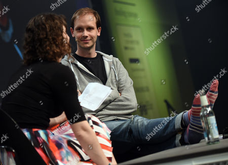 Stock Photo of Swedish Peter Sunde Co-founder of 'The Pirate Bay' Speaks at the Re:publica Internet Conference Ináberlin ágermany 06 May 2015 the Media Convention Runs From 05 to 07 May 2015 Germany Berlin