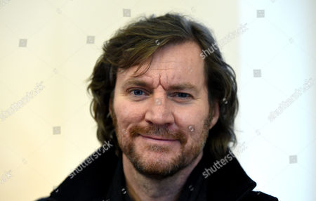 Swedish Actor Magnus Krepper Smiles in the Library of the Boarding School 'Louisenlund' in Gueby Germany 3 March 2015 Krepper is Filming the Episode 'Das Versprechen' (lit : the Promise Working Title)áuntil 25 March For the Zdf Crime Series 'Unter Anderen Umstaenden' (lit : in Other Circumstances) Germany Gueby