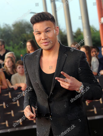 German Rapper Kay One Arrives to the German Televisionáaward Ceremony in Cologne Germany 02 October 2014 Germany Cologne