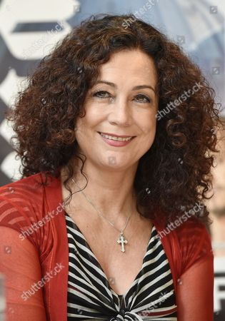 Austrian Actress Barbara Wussow Poses at a Photocall at the Grand Hotel Esplanade in Berlin Germany 08 September 2014 the 'Jedermann-festspiele' Will Take Place at the Berliner Dom From 16 to 26 October 2014 Germany Berlin