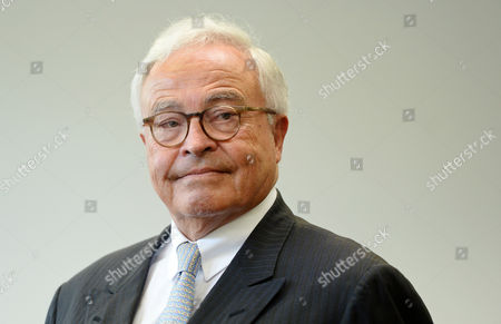 Former Deutsche Bank Ceo Rolf Breuer Stands in the Courtroom of the Regional Court in Munich Germany 05 May 2015 Breuer and Three Other Former Managers As Well As the Current Co-ceo of Deutsche Bank Fitschen Are on Trial For Attempted Fraud in the Kirch Trial the Attempted Fraud Trial is Related to Their Testimony in a 2011 Civil Court Case Over the Bankruptcy of the Empire of Leo Kirch Germany Munich