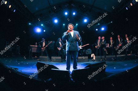 A Picture Dated 18 July 2008 Shows Us Singer Percy Sledge Performing During the 'Jazz an Der Donau' Festival in Straubing Germany According to Media Reports Percy Sledge Has Died Aged 73 at His Home in Louisiana Usa on 14 April 2015 Germany Straubing