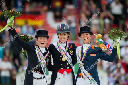 Editorial image of France World Equestrian Games 2014 - Aug 2014