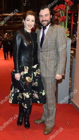 German Actress Loretta Stern (l) and Husband Matti Klemm Arrive For the Closing and Award Ceremony of the 65th Annual Berlin International Film Festival in Berlin Germany 14 February 2015 the Berlinale Runs From 05 to 15 February Germany Berlin