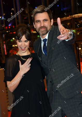 German Director Sebastian Schipper (r) and Spanish Actress Laia Costa Arrive For the Screening of 'Victoria' During the 65th Annual Berlin Film Festival in Berlin Germany 07 February 2015 the Movie is Presented in the 'Panorama Special' Section of the Berlinale Which Runs From 05 to 15 February 2015 Germany Berlin