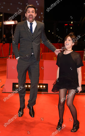 German Director Sebastian Schipper (l) and Spanish Actress Laia Costa Arrive For the Screening of 'Victoria' During the 65th Annual Berlin Film Festival in Berlin Germany 07 February 2015 the Movie is Presented in the 'Panorama Special' Section of the Berlinale Which Runs From 05 to 15 February 2015 Germany Berlin