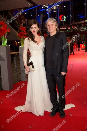 German Director Andreas Dresen (r) and German Actress Ruby O Fee (l) Arrive For the Premiere of 'Als Wir Traeumten (as We Were Dreaming)' During the 65th Annual Berlin International Film Festival in Berlin Germany 09 February 2015 the Movie is Presented in the Official Competition of the Berlinale Which Runs From 05 to 15 February Germany Berlin