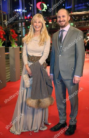 Jury Member Martha De Laurentiis (l)and Jury President Darren Aronofsky (r) Arrive to the Premiere of 'Knight of Cups' at the 65th International Film Festival Ináberlin ágermany 08 February 2015 the Movie is Presented in the Official Competition at the Berlinale Which Runs From 05 to 15 February Germany Berlin