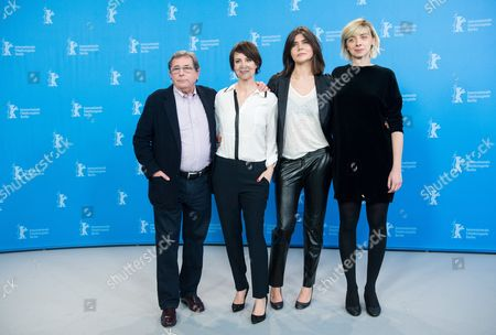 (l-r) Polish Actor Janusz Gajos Polish Actress Maja Ostaszewska Polish Director Malgorzata Szumowska and Polish Actress Justyna Suwala Pose During a Photocall For 'Body' at the 65th Annual Berlin International Film Festival in Berlin Germany 09 February 2015 the Movie is Presented in the Official Competition of the Berlinale Which Runs From 05 to 15 February Germany Berlin