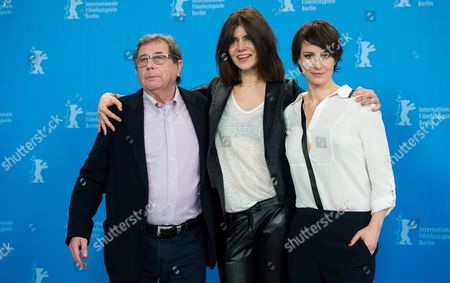 (l-r) Polish Actor Janusz Gajos Polish Director Malgorzata Szumowska and Polish Actress Maja Ostaszewska Pose During a Photocall For 'Body' at the 65th Annual Berlin International Film Festival in Berlin Germany 09 February 2015 the Movie is Presented in the Official Competition of the Berlinale Which Runs From 05 to 15 February Germany Berlin