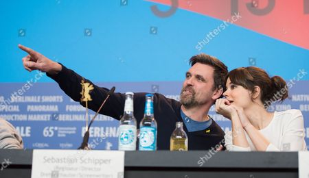 German Director Sebastian Schipper (l) and Actress Laia Costa (r) Attend the Press Conference For 'Victoria' at the 65th Annual Berlin Film Festival in Berlin Germany 07 February 2015 the Movie is Presented in the 'Panorama Special' Section of the Berlinale Which Runs From 05 to 15 February 2015 Germany Berlin