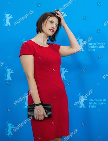 Stock Image of Albanian-belgian Actress Flonja Kodheli Poses During the Photocall For 'Vergine Giurata' (sworn Virgin) at the 65th Annual Berlin Film Festival in Berlin Germany 12 February 2015 the Movie is Presented in the Official Competition of the Berlinale Which Runs From 05 to 15 February 2015 Germany Berlin