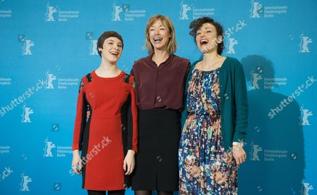 (l-r) Actresses German Jenny Schily and Victoria Schulz and Swiss Director Stina Werenfels Pose at a Photocall For 'Dora Or the Sexual Neuroses of Our Parents' During the 65th Annual Berlin Film Festival in Berlin Germany 12 February 2015 the Movie is Presented in the Panorama Special Section of the Berlinale Which Runs From 05 to 15 February 2015 Germany Berlin
