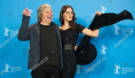 German Director Andreas Dresen (l) and German Actress Ruby O Fee Pose During a Photocall For 'Als Wir Traeumten (as We Were Dreaming)' at the 65th Annual Berlin International Film Festival in Berlin Germany 09 February 2015 the Movie is Presented in the Official Competition of the Berlinale Which Runs From 05 to 15 February Germany Berlin