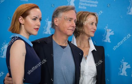 Stock Photo of Us Actress Jena Malone (l) Us Direcor Mitchell Lichtenstein (c) and British Actress Janet Mcteer Pose During the Photocall For 'Angelica' at the 65th Annual Berlin Film Festival in Berlin Germany 07 February 2015 the Movie is Presented in the 'Panorama Special' Section of the Berlinale Which Runs From 05 to 15 February 2015 Germany Berlin