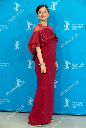 Vietnamese Actress Do Thi Hai Yen Poses During a Photocall For the Film 'Big Father Small Father and Other Stories' (cha Va Con Va) at the 65th Annual Berlin International Film Festival in Berlin Germany 13 February 2015 the Movie is Presented in the Official Competition of the Berlinale Which Runs From 05 to 15 February 2015 Germany Berlin