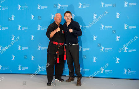 German Author and Martial Artist Andreas Marquardt (l) and German Actor Hanno Koffler (r) Pose During the Photocall For 'Tough Love' at the 65th Annual Berlin Film Festival in Berlin Germany 06 February 2015 the Movie is Presented in the 'Panorama Special' Section of the Festival Which Runs From 05 to 15 February 2015 Germany Berlin