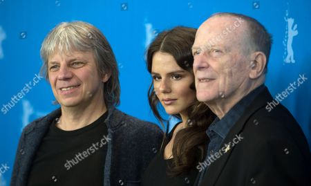 (l-r) German Director Andreas Dresen German Actress Ruby O Fee and German Screenwriter Wolfgang Kohlhaase Pose During a Photocall For 'Als Wir Traeumten (as We Were Dreaming)' at the 65th Annual Berlin International Film Festival in Berlin Germany 09 February 2015 the Movie is Presented in the Official Competition of the Berlinale Which Runs From 05 to 15 February Germany Berlin