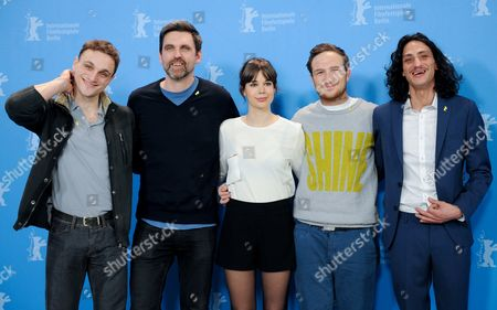 From (l-r) German Actor Franz Rogowski German Director Sebastian Schipper Spanish Actress Laia Costa German Actor Frederick Lau and German Actor Burak Yigit Pose During the Photocall For 'Victoria' at the 65th Annual Berlin Film Festival in Berlin Germany 07 February 2015 the Movie is Presented in the 'Panorama Special' Section of the Berlinale Which Runs From 05 to 15 February 2015 Germany Berlin