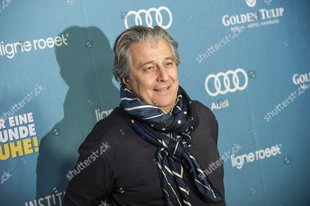 French Actor/cast Member Christian Clavier Arrives For the German Premiere of 'Une Heure De Tranquillite' in Berlin Germany 01 April 2015 the Movie Will Be Released in German Cinemas on 16 April Germany Berlin