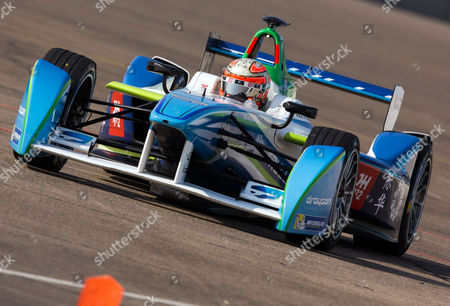 Italian Driver Jarno Trulli of Team Trulli Takes Part in the Second Practice Session of the Fia Formula E Race at the Former Tempelhof Airport in Berlin Germany 23 May 2015 Germany Berlin