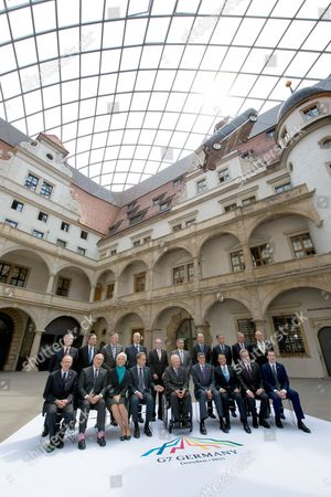 Editorial image of Germany G7 Finance Ministers Meeting - May 2015