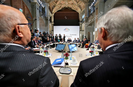 Editorial picture of Germany G7 Finance Ministers Meeting - May 2015