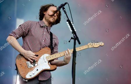 Guitarist Mike Einziger of the Us Band Incubus Performs on Stage During a Concert at the Music Festival 'Rockavaria' in Munich (bavaria) Germany 29 May 2015 the Event Takes Place From 29 to 31 May 2015 Germany Munich