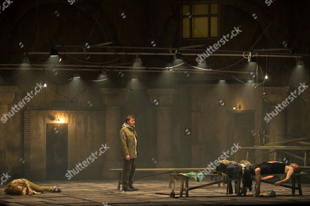 Rene Pape (c) As Gurnemanz Performs on Stage During a Dress Rehearsal of the Opera 'Parsifal' Conducted by Daniel Barenboim at the Staatsoper Berlin in Berlin Germany 25 March 2015 Germany Berlin