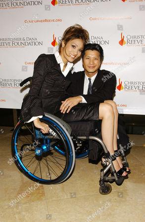 Dustin Nguyen and wife Angela Rockwood
