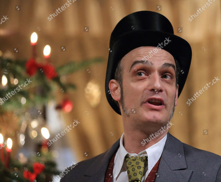 Stock Photo of Swiss Actor Anatole Taubman Poses While Filming the Tv Movie 'The Nutcracker and the Mouse King' in Quedlinburg (saxony-anhalt) Germany 17 March 2015 Germany Quedlinburg
