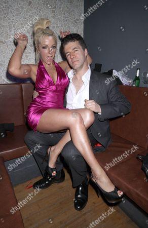 Britney Spears lookalike Lorna Bliss and Simon Cowell lookalike Andrew Monk